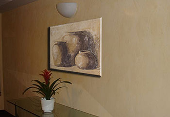 Фреска «Три вазы»