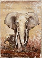 Фреска «Слон»